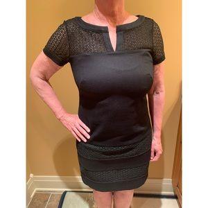 Ann Taylor Black Short Dress